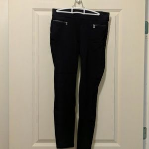 Ann Taylor ponte leggings S navy